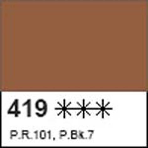 Краска акриловая ДЕКОЛА коричневая, матовый, 50мл ЗХК, фото 2