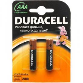 Батарейки Duracell LR3 АAA s.58170