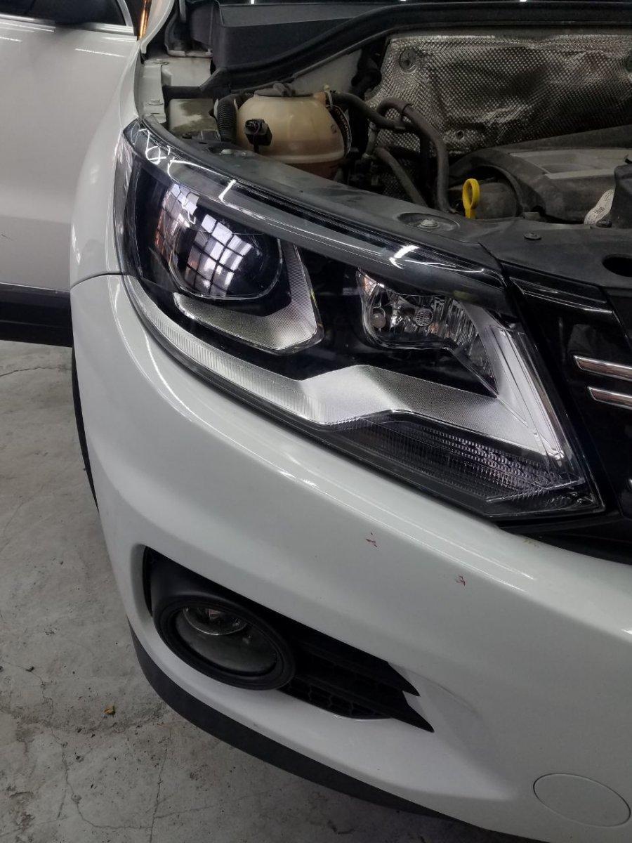 Ремонт фар Volkswagen Tiguan 2016