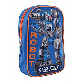Рюкзак дитячий 1 Вересня K-18 Steel Force 556427