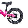 Беговел Велобег 12Д Scale Sports Малиновый цвет, фото 4
