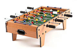 Настольный деревянный футбол на ножках 2035  (69 x 58 x 23 см)