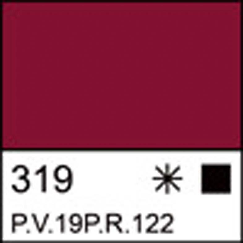 Краска акриловая ЛАДОГА, карминовая, 46мл ЗХК