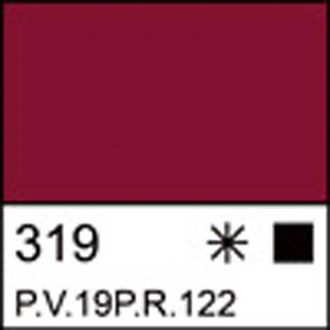 Краска акриловая ЛАДОГА, карминовая, 46мл ЗХК, фото 2