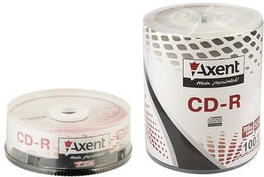 Диски Axent CD-R 52X 100 шт bulk 8101-А