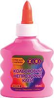 Клей ПВА ZiBi KIDS Line 88 мл непрозрачный розовый (ZB.6113-10)