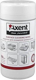 Серветки для огртехники Axent вологі 100 шт 5301-А