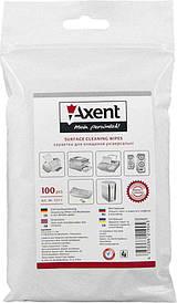 Серветки для огртехники Axent вологі змінні 100 шт 5311-А