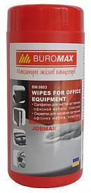Серветки для техніки Buromax вологі BM.0803