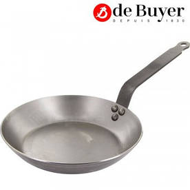 Сковорода 26 см De Buyer Carbone Plus арт. 5110.26