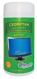 Серветки для екранов Арніка LCDTFT і плазмових моніторів 100шт 30661