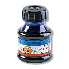 Чернила для ручек Koh-i-noor 50 мл синие 141500