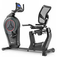 Велотренажер электронный горизонтальный Hop-Sport HS-100L Edge черный iConsole+ мат для дома и спорт