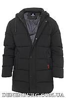 Куртка зимняя мужская HANDIGEFENG 20-3-65 чёрная, фото 1
