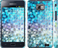 "Чехол на Samsung Galaxy S2 Plus i9105 Переливающаяся чешуя ""227c-71"""