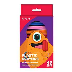 Мелки пластиковые, 12 цв. Jolliers Kite K19-072-12