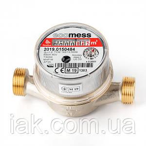 Счетчик для горячей воды Ecomess Picoflux ДУ15 L=110