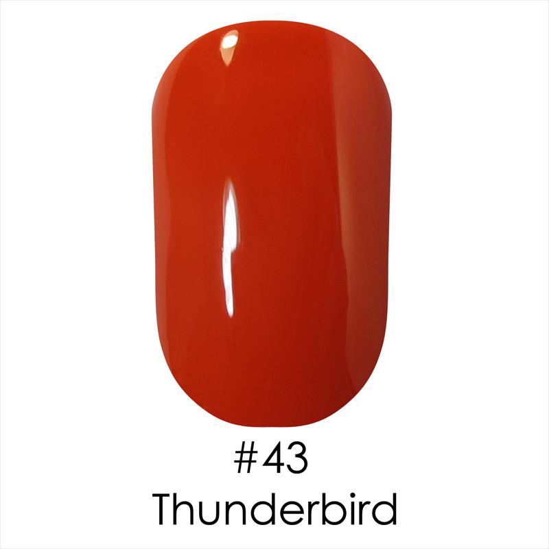 Гель лак Naomi №43 (thunderbird), 6ml