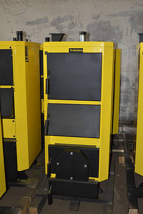Твердотопливный котел длительного горения KRONAS UNIC P 35 кВт, фото 2