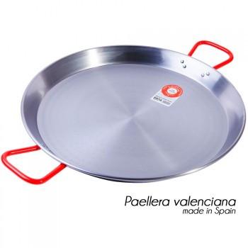 Сковорода паэльера з шліфованої сталі 40 см
