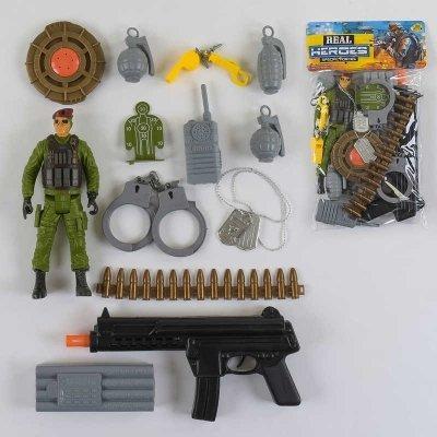 Игровой набор Спецназ с аксессуарами SKL11-182864