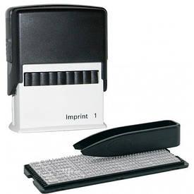 Самонаборный штампу Trodat серія Imprint 3-х рядковий+каса 8951I/3/U