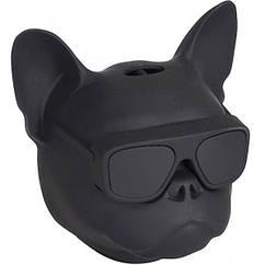 Портативна Колонка Голова собаки 597-5(Black) Чорний