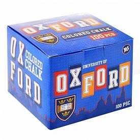Мел цветной квадратный 100 шт. ''Oxford''