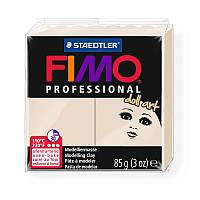 Пластика professional doll art бежевая 110С 85г Fimo