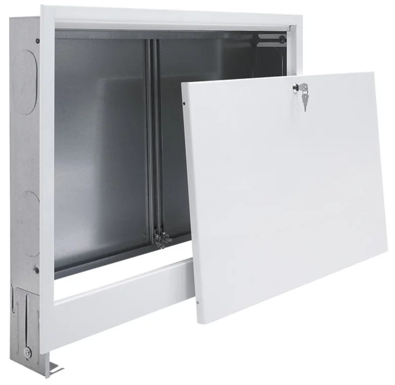 Встроенный коллекторный шкаф №4 845х580х110 (Италия)