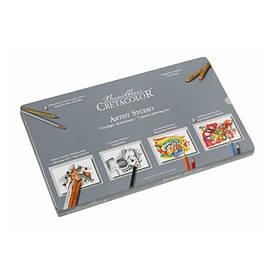 Набор художественный Cretacolor Artist Studio Sketching and Drawing Set набор 72 предмета  (9014400184513)