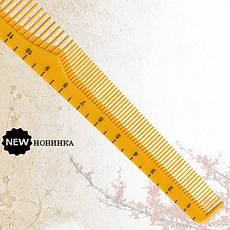 Скошенная расческа Sway Yellow Ion+ 007, фото 2