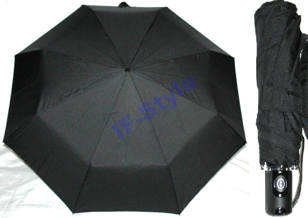 Зонт мужской SR 801 компактный титан антиветер полный автомат