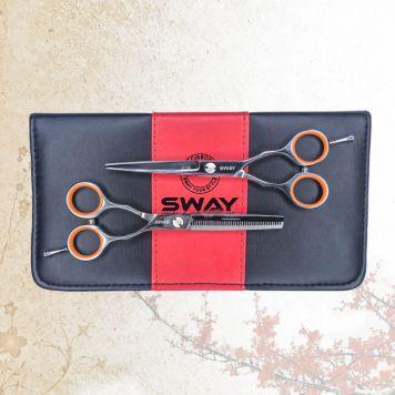 "Набор парикмахерских ножниц Sway Job 501 размер 5.5"""