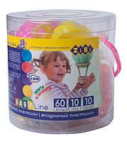 Набор воздушного пластилина ZiBi BABY Line в тубусе 10шт (ZB.6254)