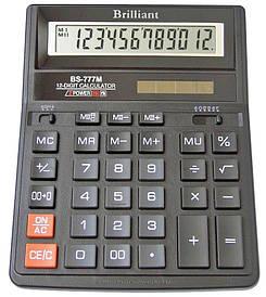 Калькулятор Brilliant 12 разрядов 2-питан. BS-777M