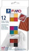 Набор пластики ''Effect Colours'', 12х25гр, Fimo