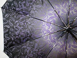 Зонт женский SR #1R 4947 антиветер полный автомат, фото 2