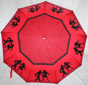 Зонт жіночий SR 707 0373 антиветер напівавтомат, фото 2
