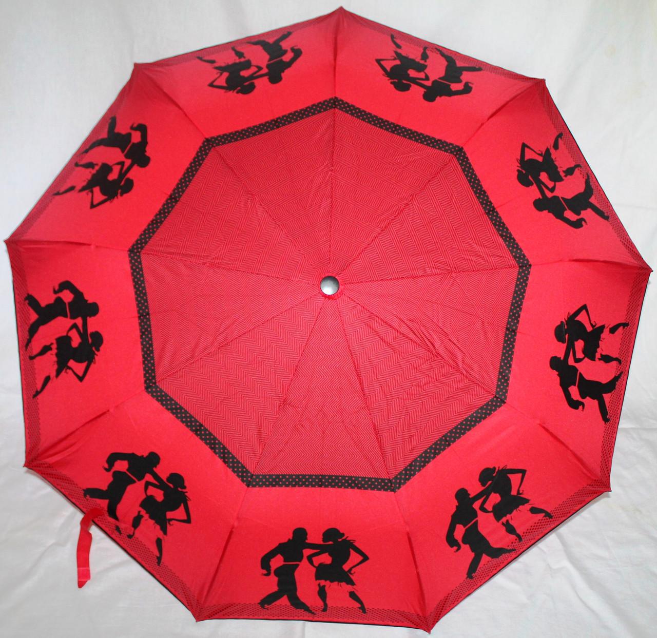 Зонт жіночий SR 707 0373 антиветер напівавтомат