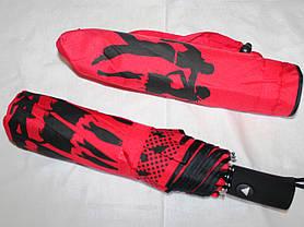 Зонт жіночий SR 707 0373 антиветер напівавтомат, фото 3