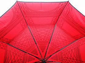 Зонт женский SR 707 0377 антиветер полуавтомат, фото 2