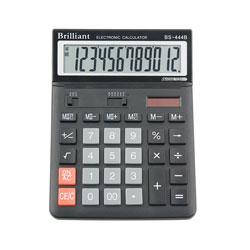 Калькулятор Brilliant 12 разрядов 2-питан. BS-444B