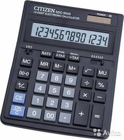Калькулятор Citizen 14 разрядов SDC-554S