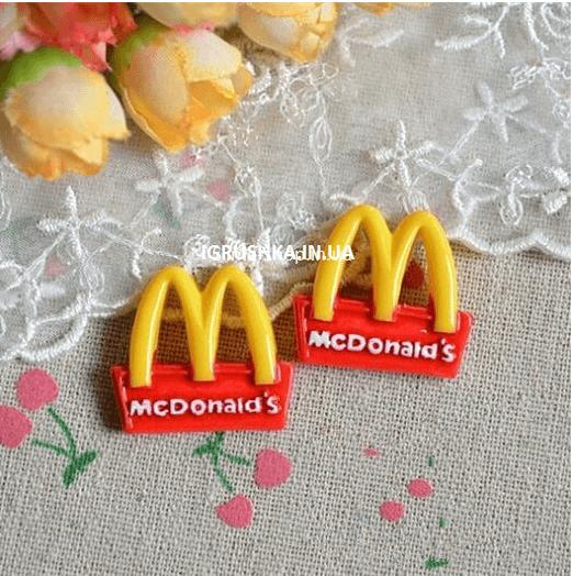 Шарм «Mcdonalds» для слайма
