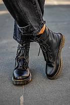 """Черевики Dr. Martens 1460 Black LUX """"Чорні"""", фото 2"""