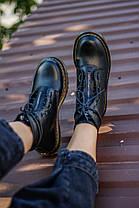 """Черевики Dr. Martens 1460 Black LUX """"Чорні"""", фото 3"""