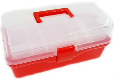Арт-бокс для художніх матеріалів 36х20х16 см пластиковий D. K. ART & CRAFT 6926586613608