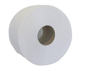 Бумага туалетная Buroclean макулатурная Джамбо 130м на гильзе серый 10100051