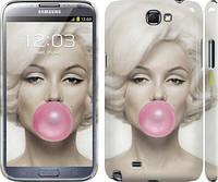 """Чехол на Samsung Galaxy Note 2 N7100 Мэрлин Монро """"1833c-17"""""""